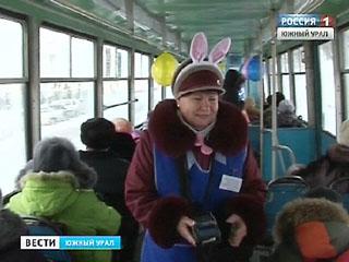 В Златоусте даже трамваи готовы к Новому году