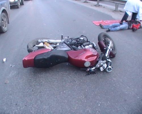 В Златоусте байкер получил серьезные травмы лица