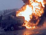 В аварии на трассе М-5 заживо сгорела семья из Златоуста