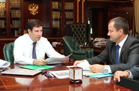 Юревич встретился с мэром третьего по величине города Южного Урала. И пообещал сто миллионов из областного бюджета