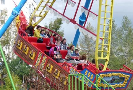 8 сентября  в Златоусте после реконструкции откроется парк с аттракционами